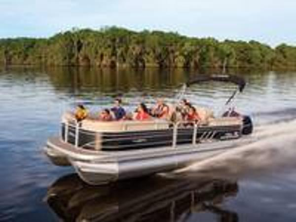 2020 Sun Tracker boat for sale, model of the boat is PARTY BARGE® 24 XP3 & Image # 1 of 1
