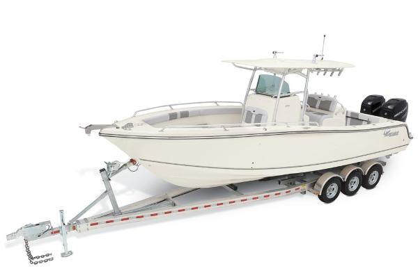2021 Mako boat for sale, model of the boat is 284 CC & Image # 1 of 82