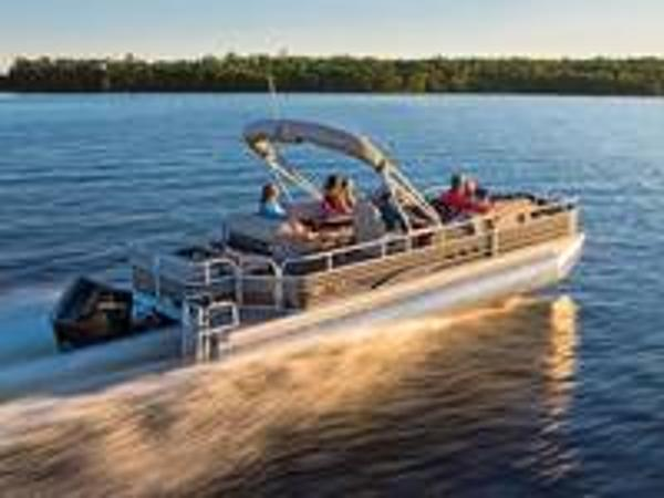 2020 Sun Tracker boat for sale, model of the boat is FISHIN' BARGE 24 XP3 150L & Image # 1 of 1