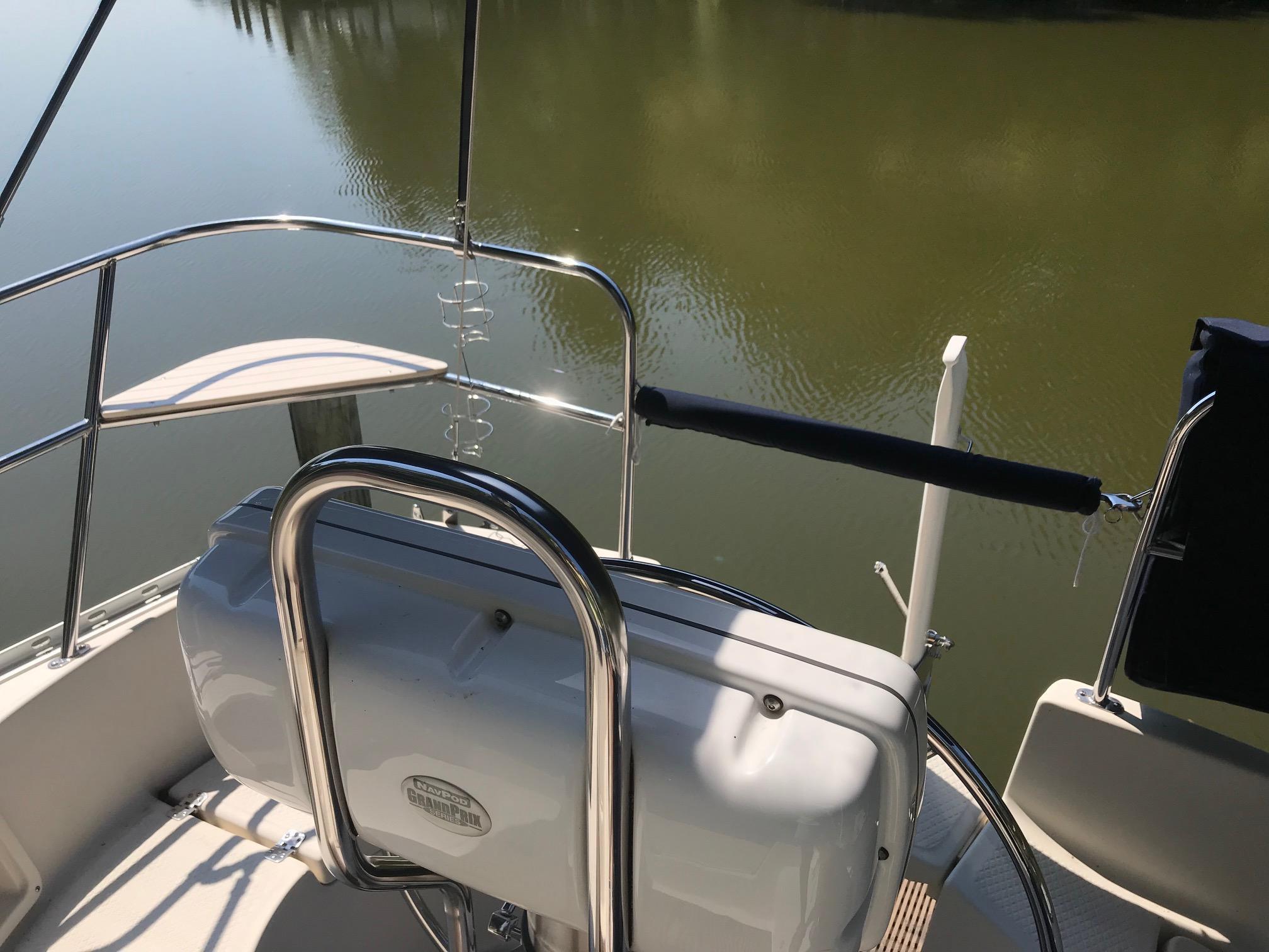 Catbird seat and navigation pod