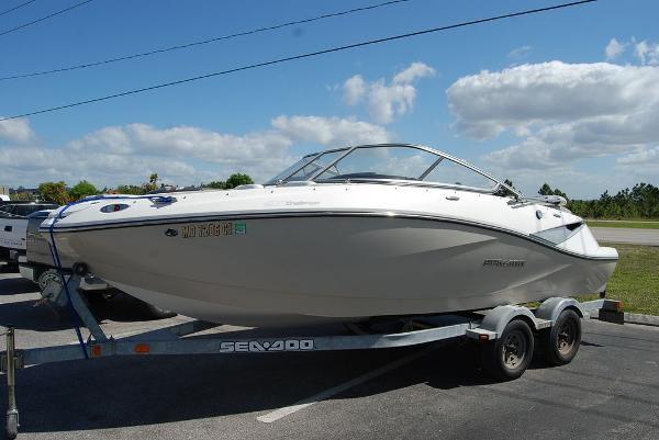 2010 Sea Doo PWC boat for sale, model of the boat is Challenger 210 & Image # 3 of 9