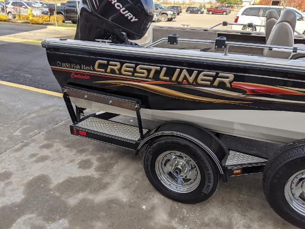 2006 Crestliner boat for sale, model of the boat is 1850 Fish Hawk & Image # 7 of 7
