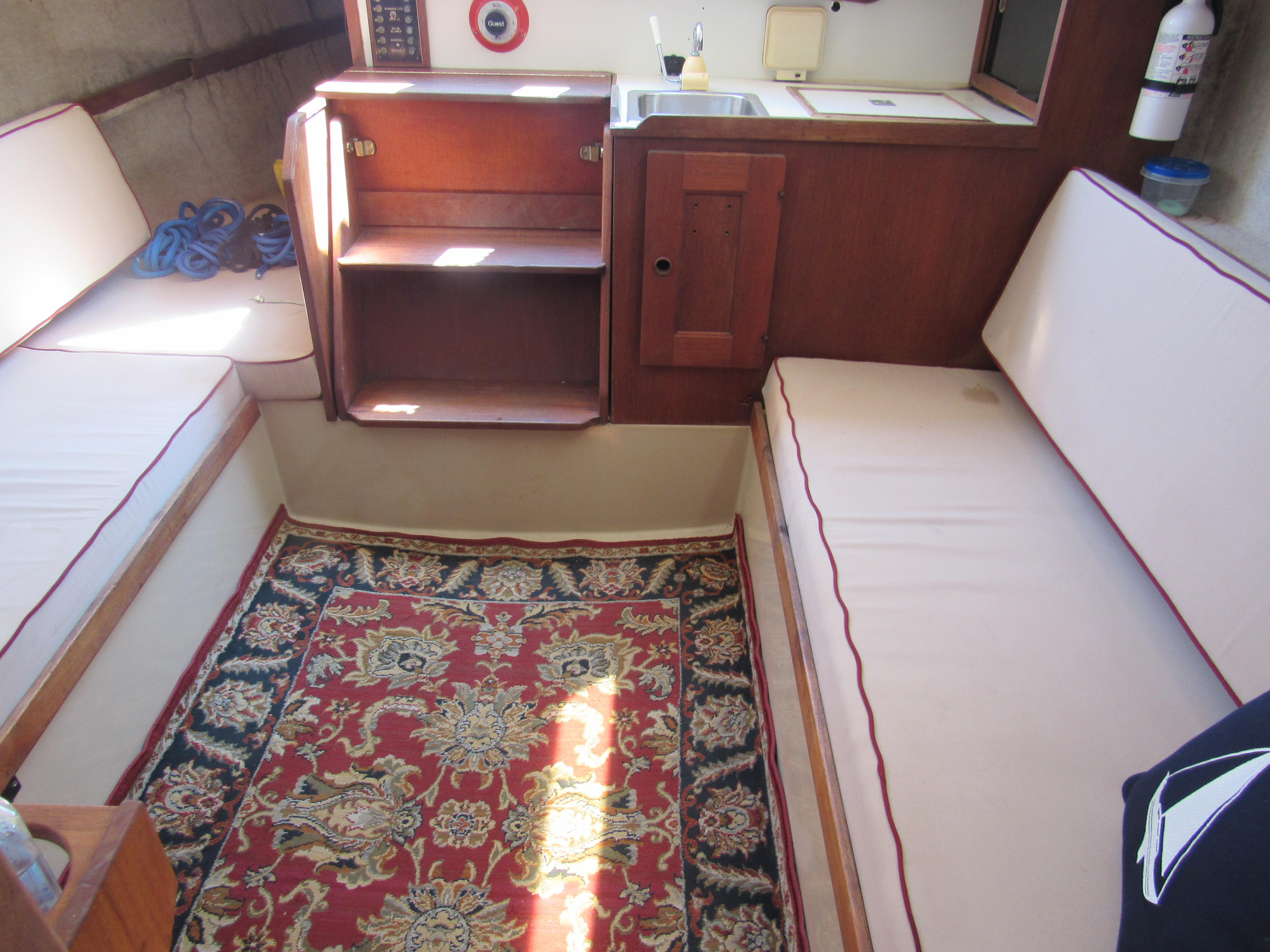 Companionway and Carpet