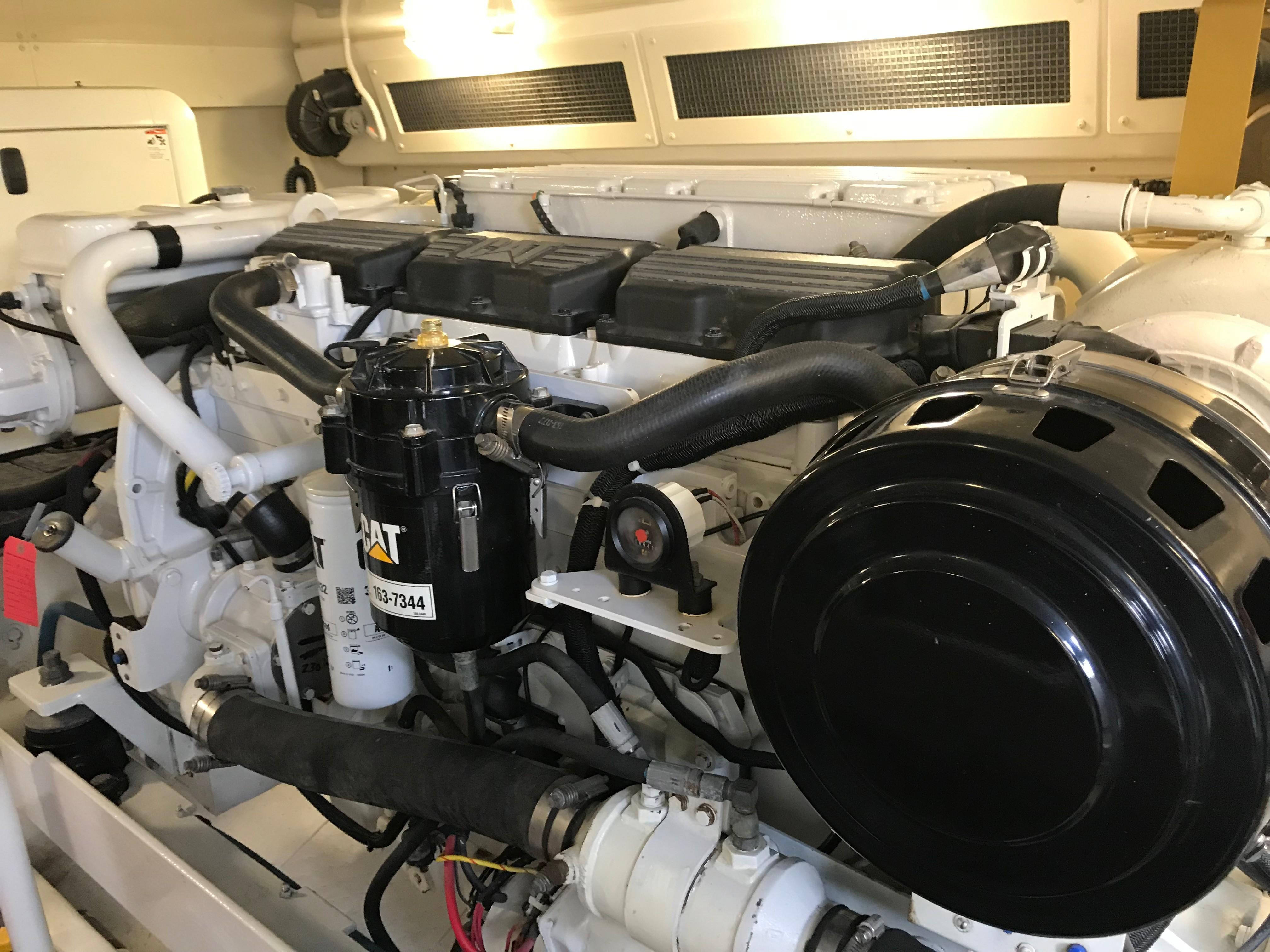 Silverton 48 Convertible - Starboard Engine