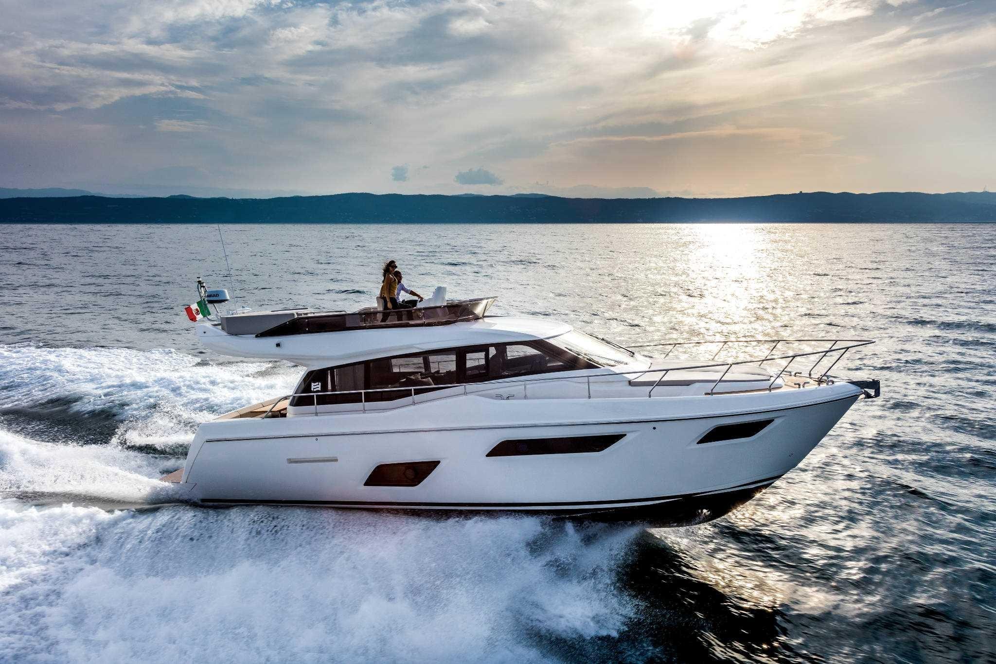Ferretti Yachts F-450