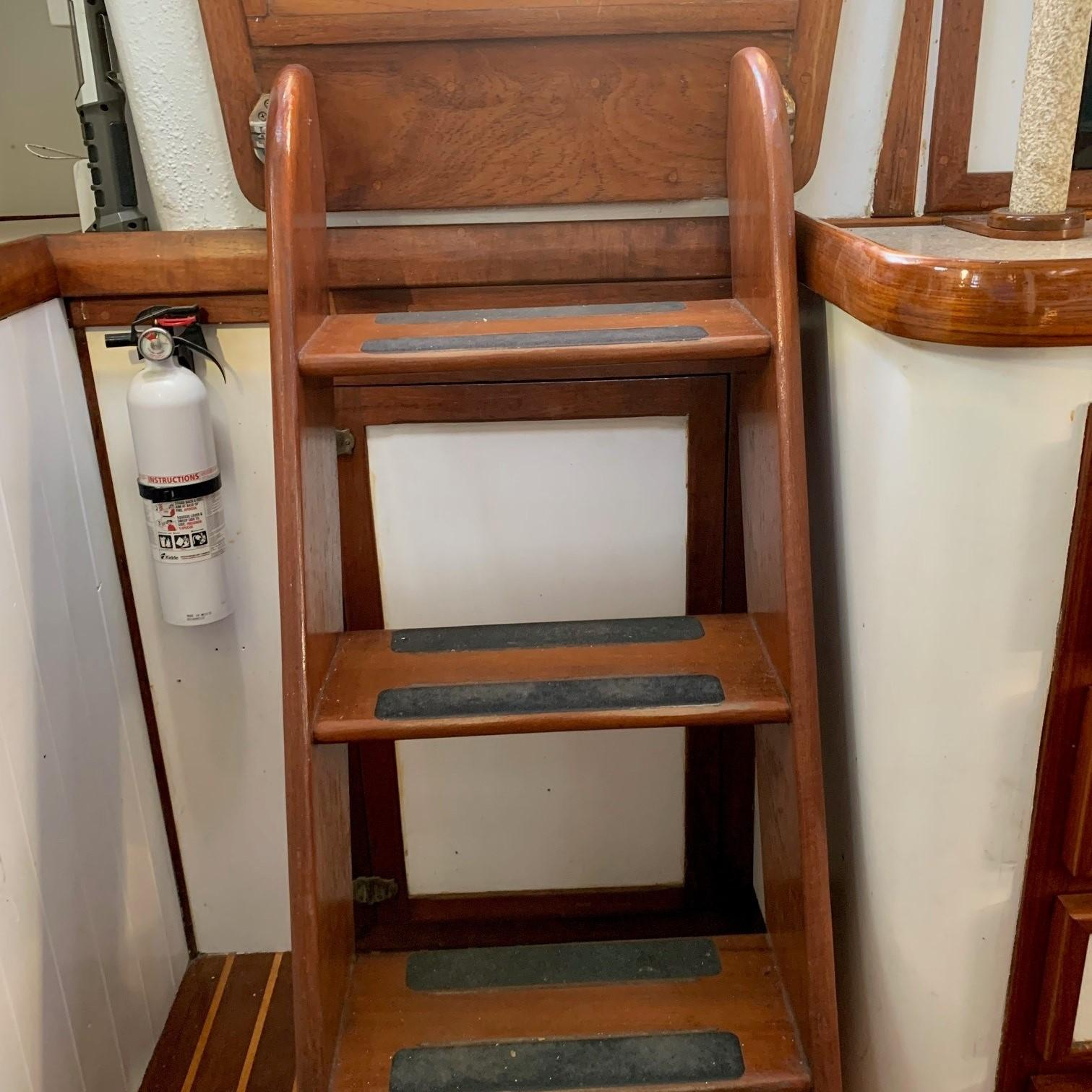Companionway up from Main Cabin