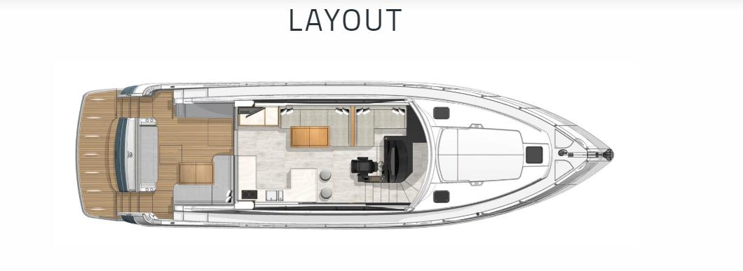 2022 Riviera 5400 Sport Yacht #R132 inventory image at Sun Country Coastal in San Diego