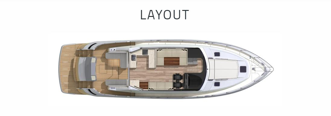 2021 Riviera 6000 Sport Yacht #R111 inventory image at Sun Country Yachts in Newport Beach