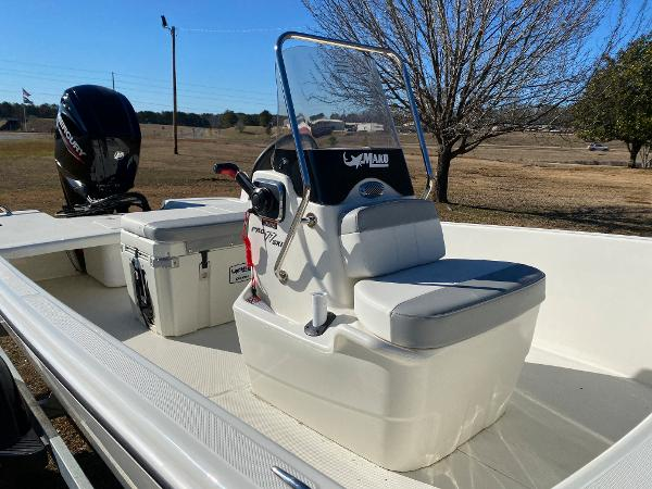 2021 Mako boat for sale, model of the boat is Pro Skiff 17 CC & Image # 7 of 18