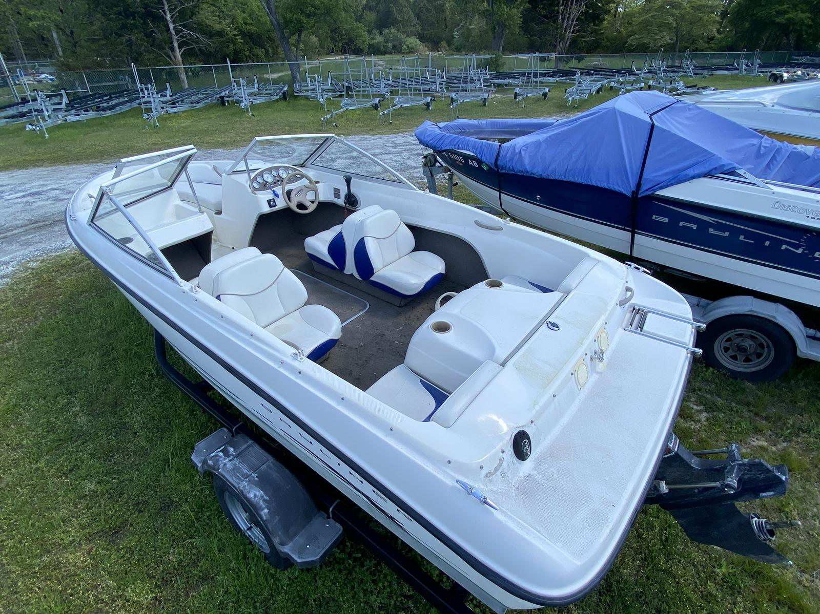 2003 Bayliner boat for sale, model of the boat is 175 Bowrider & Image # 7 of 10