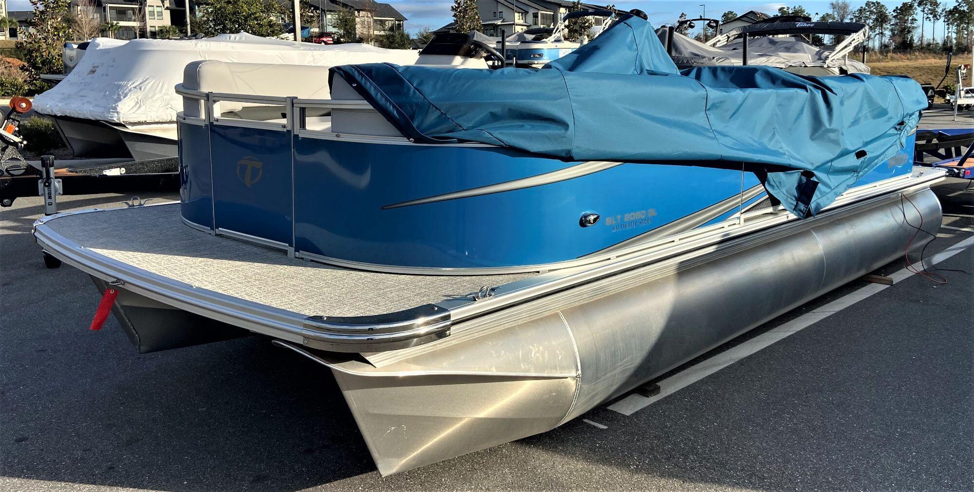 2021 Tahoe 2080 SLT Quad Lounger w/ Suzuki 60HP