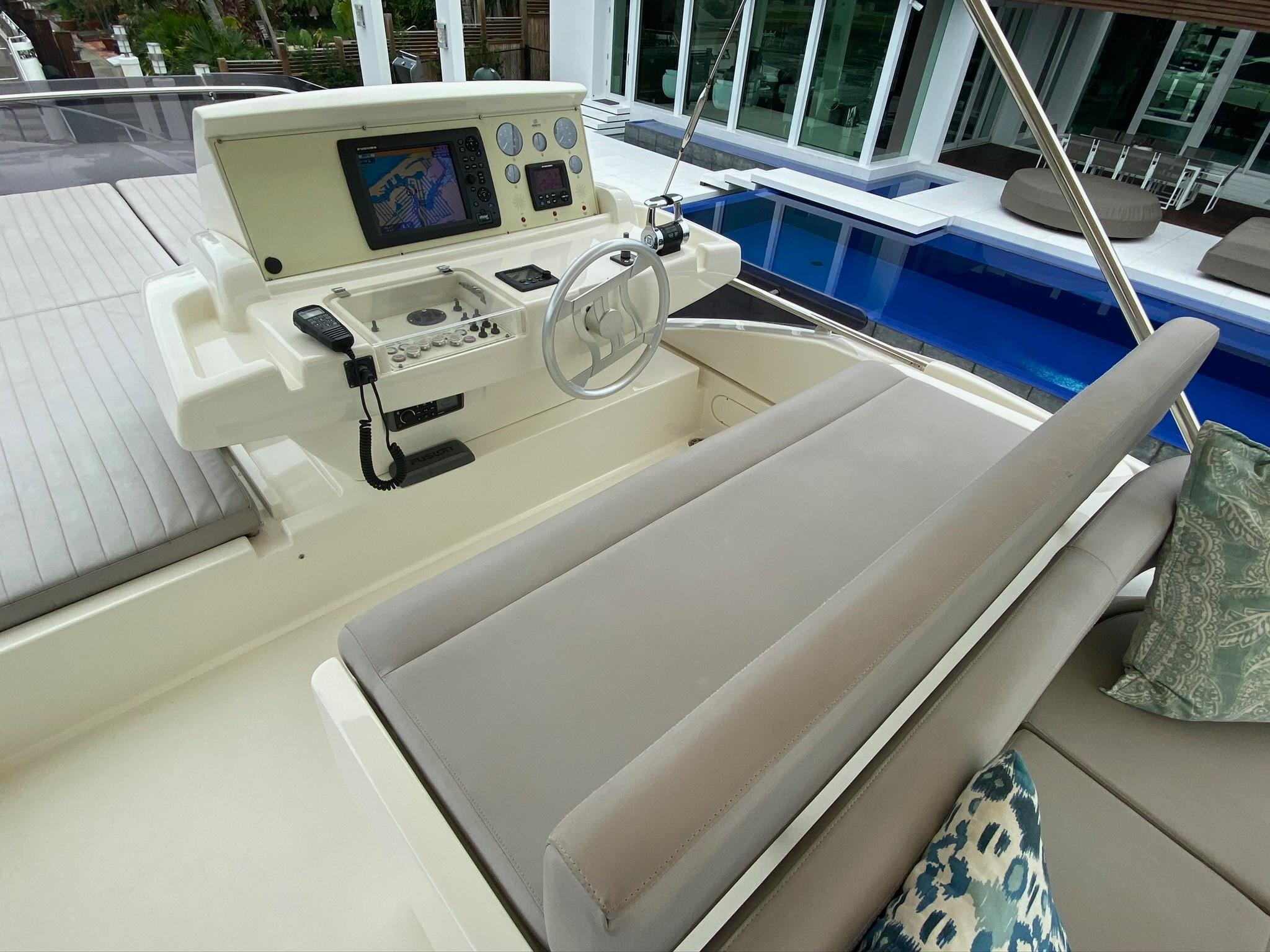 Rally Round The Family - Flybridge Helm