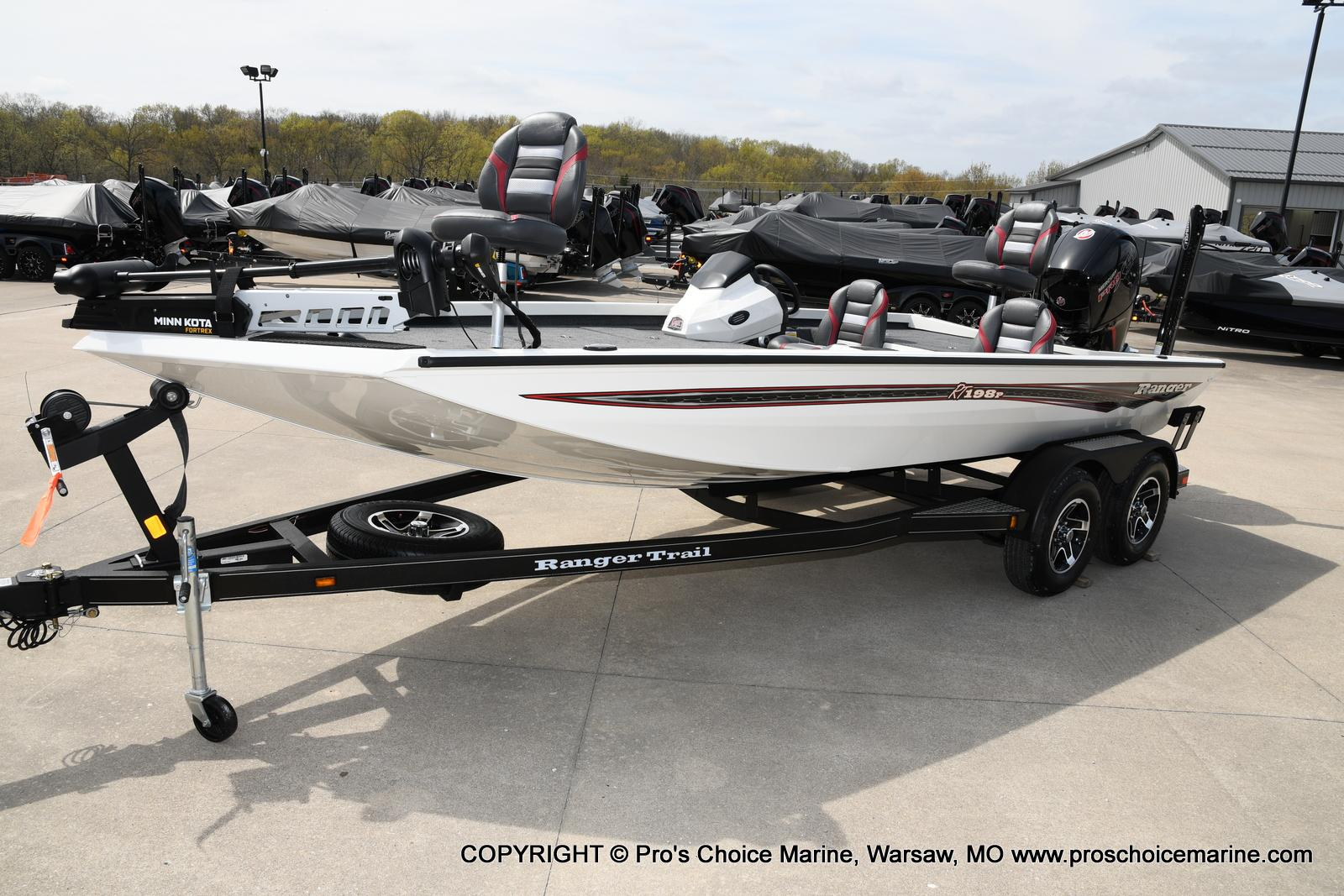 2020 Ranger Boats boat for sale, model of the boat is RT198P Pro Pack & Image # 20 of 50