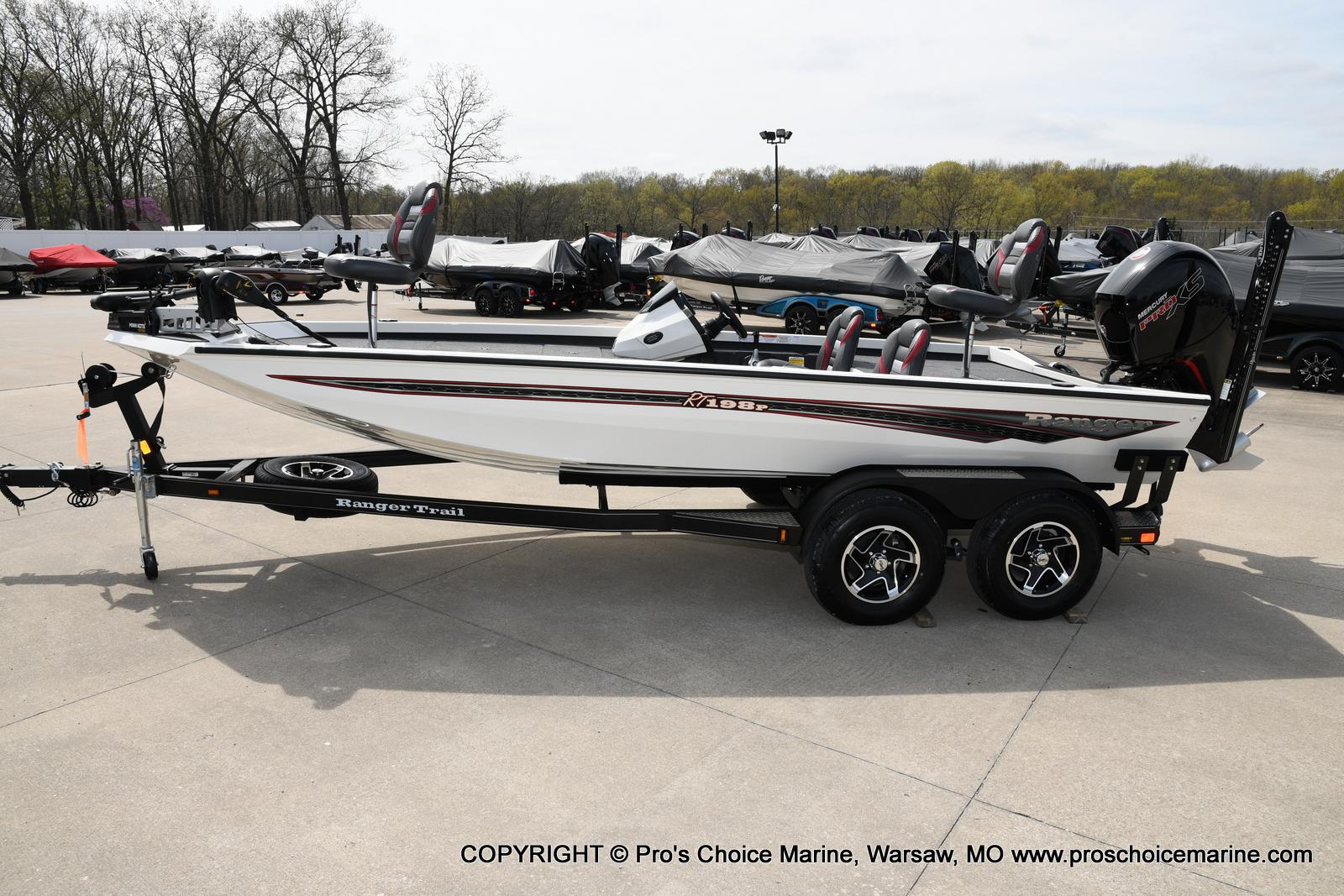 2020 Ranger Boats boat for sale, model of the boat is RT198P Pro Pack & Image # 50 of 50