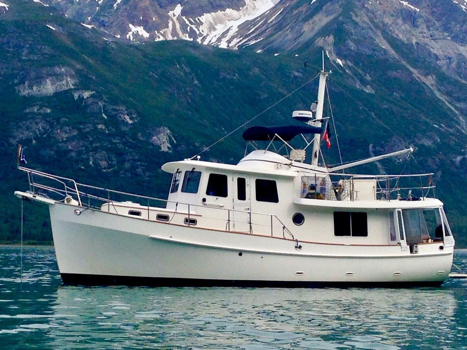 2004 KADEY KROGEN 39 Pilothouse Trawler thumbnail