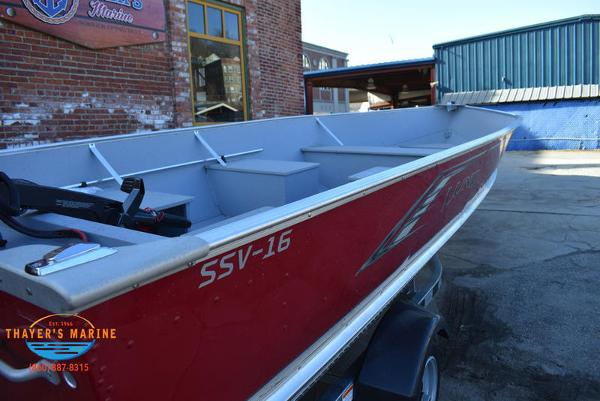 2021 Lund boat for sale, model of the boat is SSV-16 Fishboat & Image # 12 of 25
