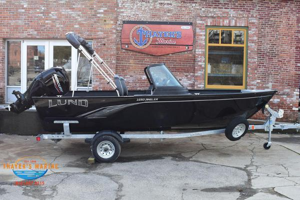 2021 Lund boat for sale, model of the boat is 1650 Angler Sport & Image # 3 of 43