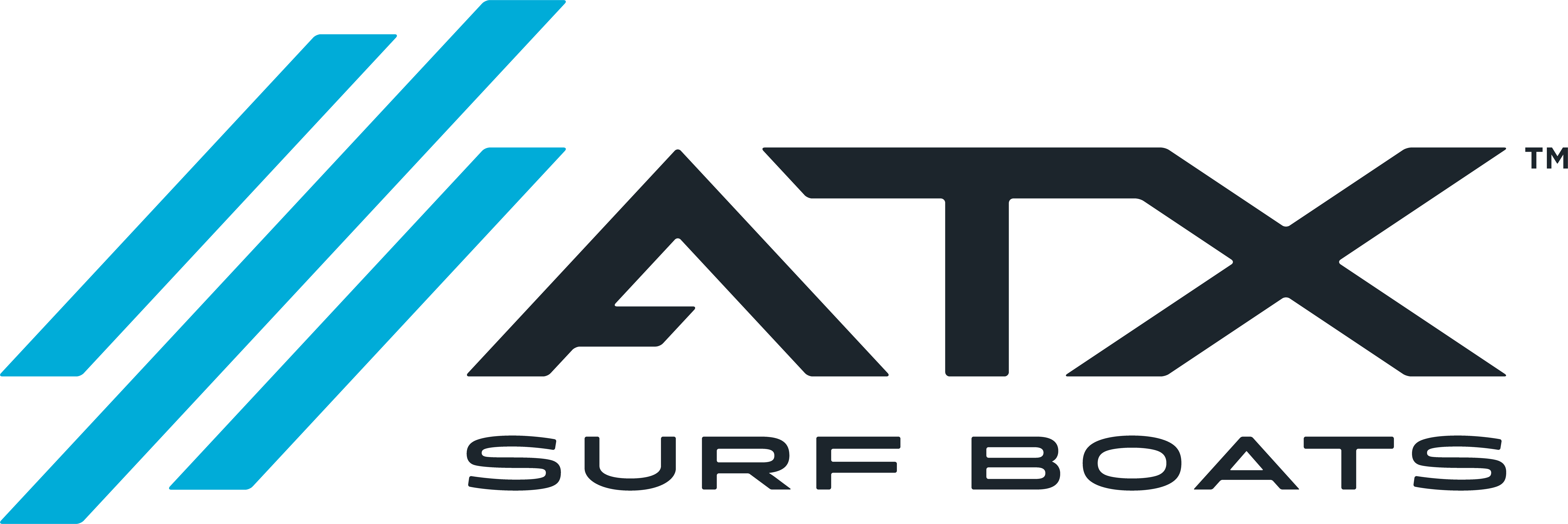 ATX Surf Boats brand logo
