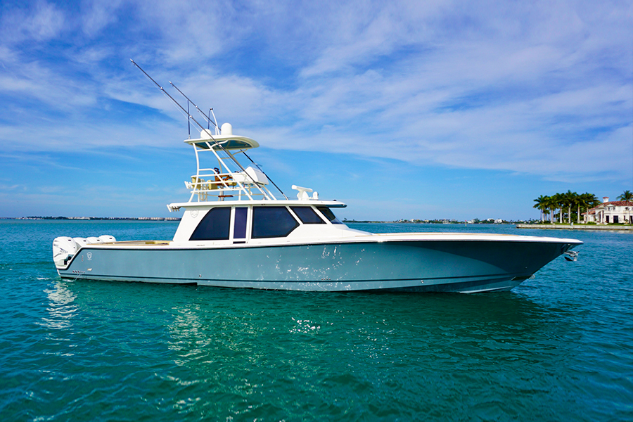 Gulf Stream Yachts Boat