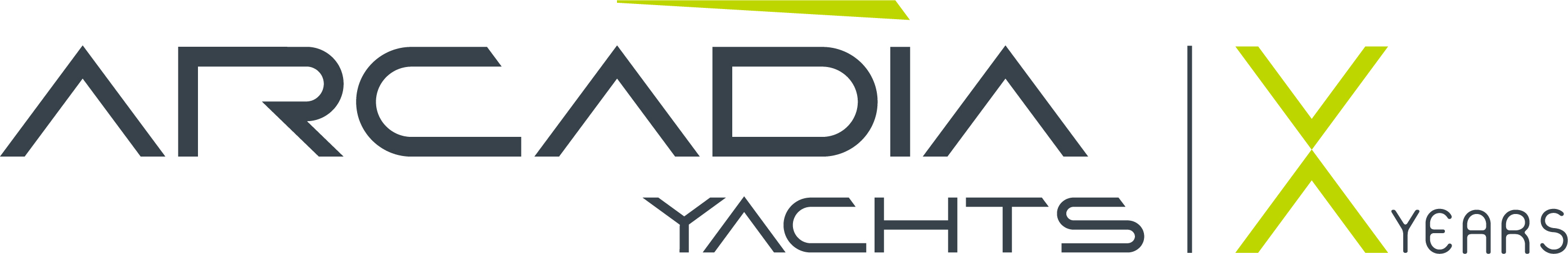 Arcadia Yachts logo