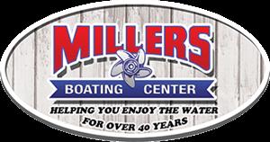 Miller's Boating Center logo