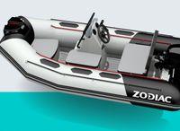 2021 Zodiac Open 3.1 Hypalon Donker Grijs