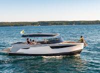 2021 Alfastreet Marine 28 Cabin Motor