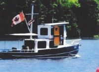 2004 Custom Steel 27 Tug with Trailer