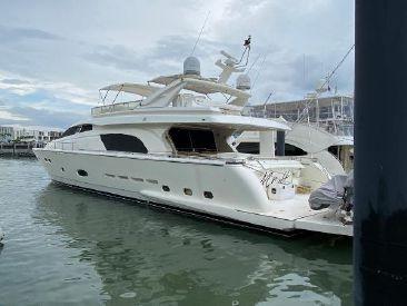 2004 81' 5'' Ferretti Yachts-810 PANAMA, PA