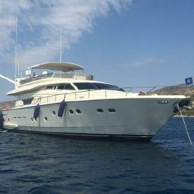 1994 75' 6'' Ferretti Yachts-225 Athens, GR
