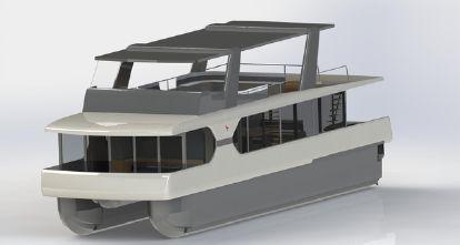 2021 Planus Nautica Aquacruise 1800 Houseboat