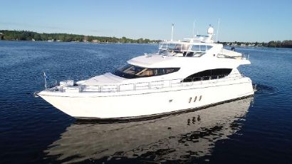 2004 80' Hatteras-80 Motor Yacht Fort Lauderdale, FL, US
