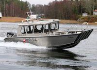 2021 Alukin CW 750 werkboot