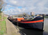 1909 Dutch Barge 22m Luxemotor with London mooring