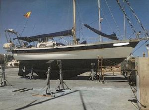1981 Brewer Pan Oceanic Pilot house 46