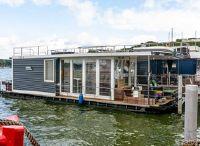 2015 Drijvers Trimaran PEREBO, Opbouw Ontworpen Door Architect. Happiness Houseboat
