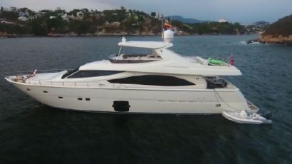 2012 86' Ferretti Yachts-830 Acapulco, MX