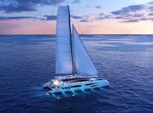 2021 Custom Eco yacht catamaran 115'