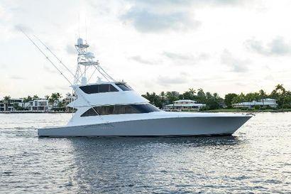 2007 74' Viking-Enclosed Bridge Fort Lauderdale, FL, US