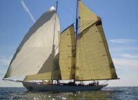 1930 Classic Sailing Schooner Gaff Rigged