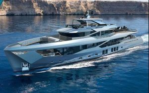 2023 147' Numarine-45XP Hull #1 Istanbul, TR