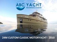 2010 Custom Classic-antique Wooden Yacht