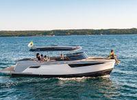 2022 Alfastreet Marine 28 Cabin Motor