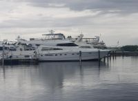 1993 Johnson FB MotorYacht with Extension