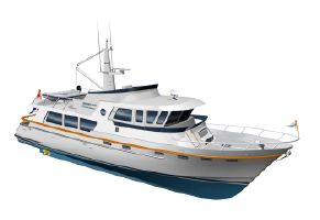 2022 62' 3'' Goldwater-65 CE Trawler Cannes, FR