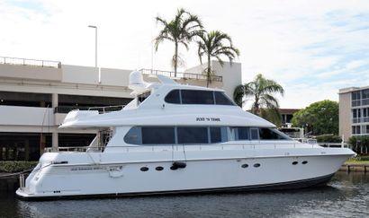 1999 76' Lazzara Yachts-Skylounge Grand Salon Freeport, Grand Bahama, BS
