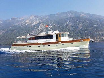 2004 75' 6'' Custom-Trawler 23M Turkey, TR