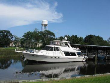 2003 49' Meridian-490 Pilot House Pascagoula, MS, US