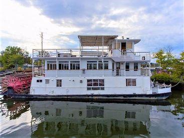 1982 79' AC Mcleod-Custom Sternwheeler House Barge Haverstraw, NY, US