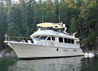 1996 Hatteras 74 Sport Deck Motoryacht